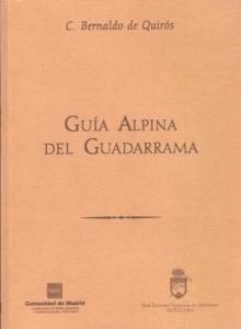 Guia Alpina del Guadarrama de Constancio Belnaldo de Quirós