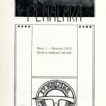 1913 Portada primera revista Peñalara