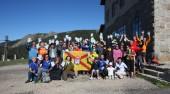 Jornada de limpieza en el entorno del Puerto de Navacerrada el 17 de mayo