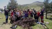 Retirada de Alambradas dela Najarra el pasadosábado 23 de Mayo
