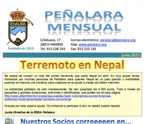 Peñalara mensual junio 2015