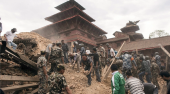 Solidaridad Peñalara con Nepal