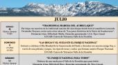 Os informamos de las interesantes actividades organizadas por el Centro de Interpretación del Valle de la Fuenfría para el mes de julio