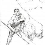 Zabala (dibujo de Ricardo Rubio)