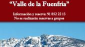 Actividades organizadas por el Centro de Interpretación del Valle de la Fuenfría para el mes de agosto