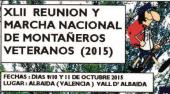 XLII Reunión Marcha Nacional de Montañeros Veteranos