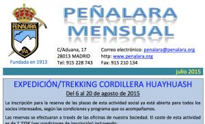 Peñalara mensual julio 2015