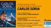 Presentación del libro Carlos Soria Alpinista