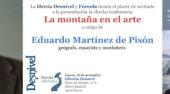 """Eduardo Martínez de Pisón presenta su libro """"La montaña y el arte"""""""
