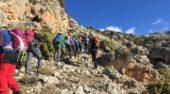 Crónica salida Sierra Cabra. Techos de Albacete y Murcia. 14-15 de Marzo 2018