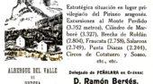 Revista Peñalara hace 100 años: Inauguración Parque Nacional Ordesa
