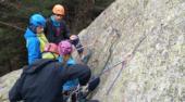 Primera concentración del Grupo de Tecnificación de Alpinismo