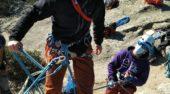 Segunda concentración del Grupo de Tecnificación de Alpinismo