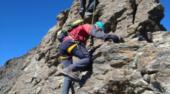 Curso de Escalada en Crestas y Aristas