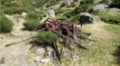 Retirada de restos metálicos en el arroyo Aguilón el 2 de octubre
